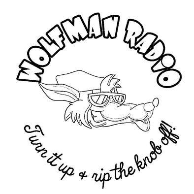 Wolfman Radio Monotone Tee Shirt>
