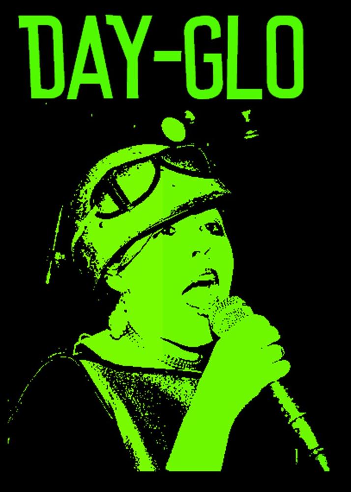 Poly Styrene DAY-GLO Tee Shirt>
