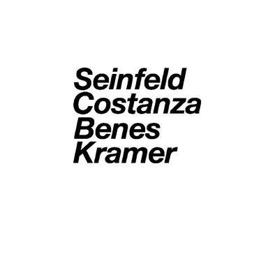 Seinfeld Characters Tee Shirt>