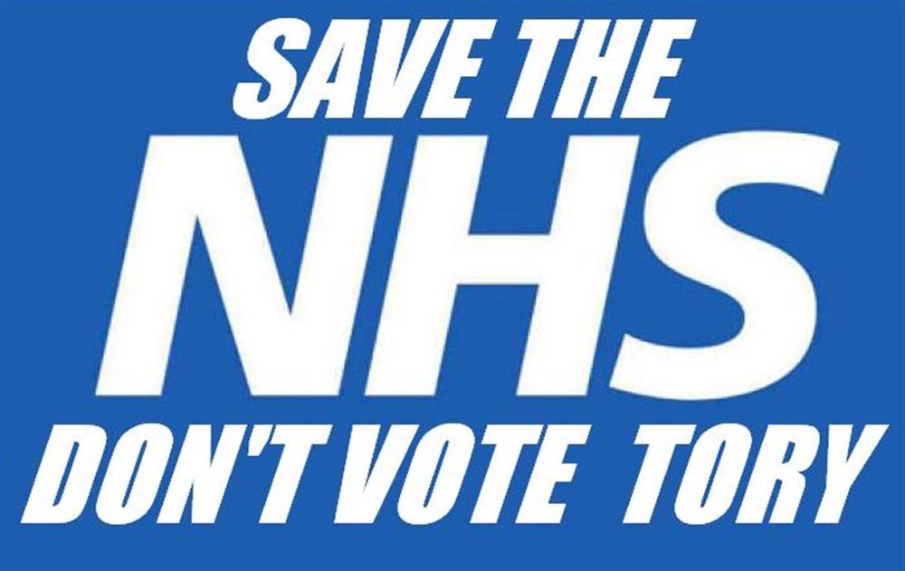 SAVE THE NHS TEE SHIRT>
