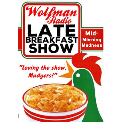 Official Late Breakfast Show Uni-Sex/ Mens Tee Shirt