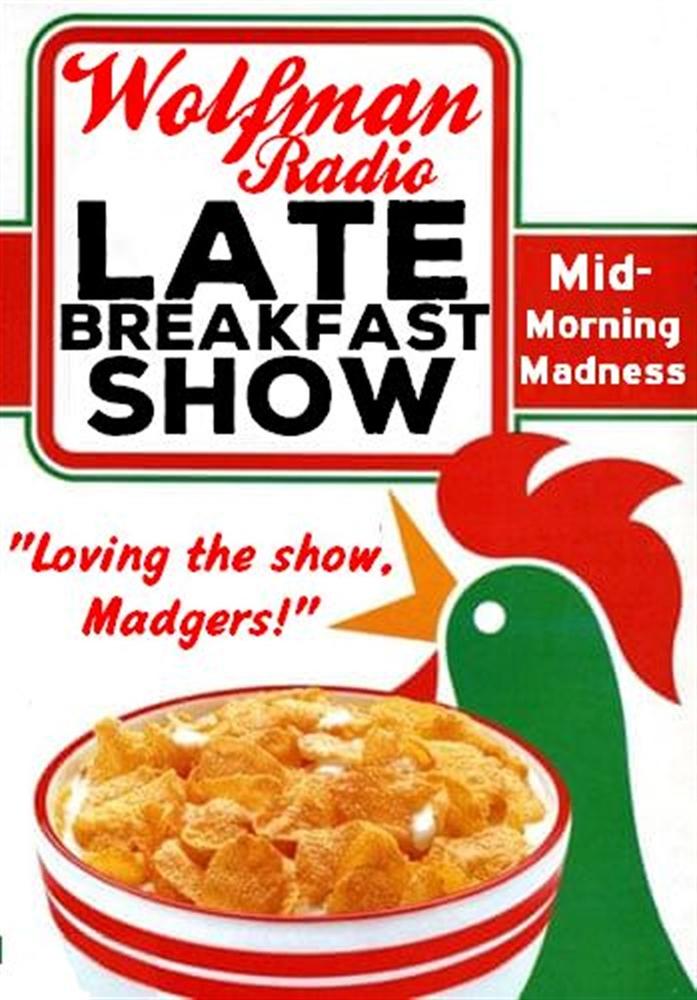 Official Late Breakfast Show Uni-Sex/ Mens Tee Shirt>