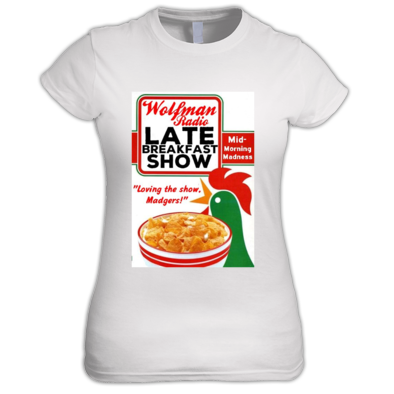 Official Late Breakfast Show Women's Fit Tee Shirt