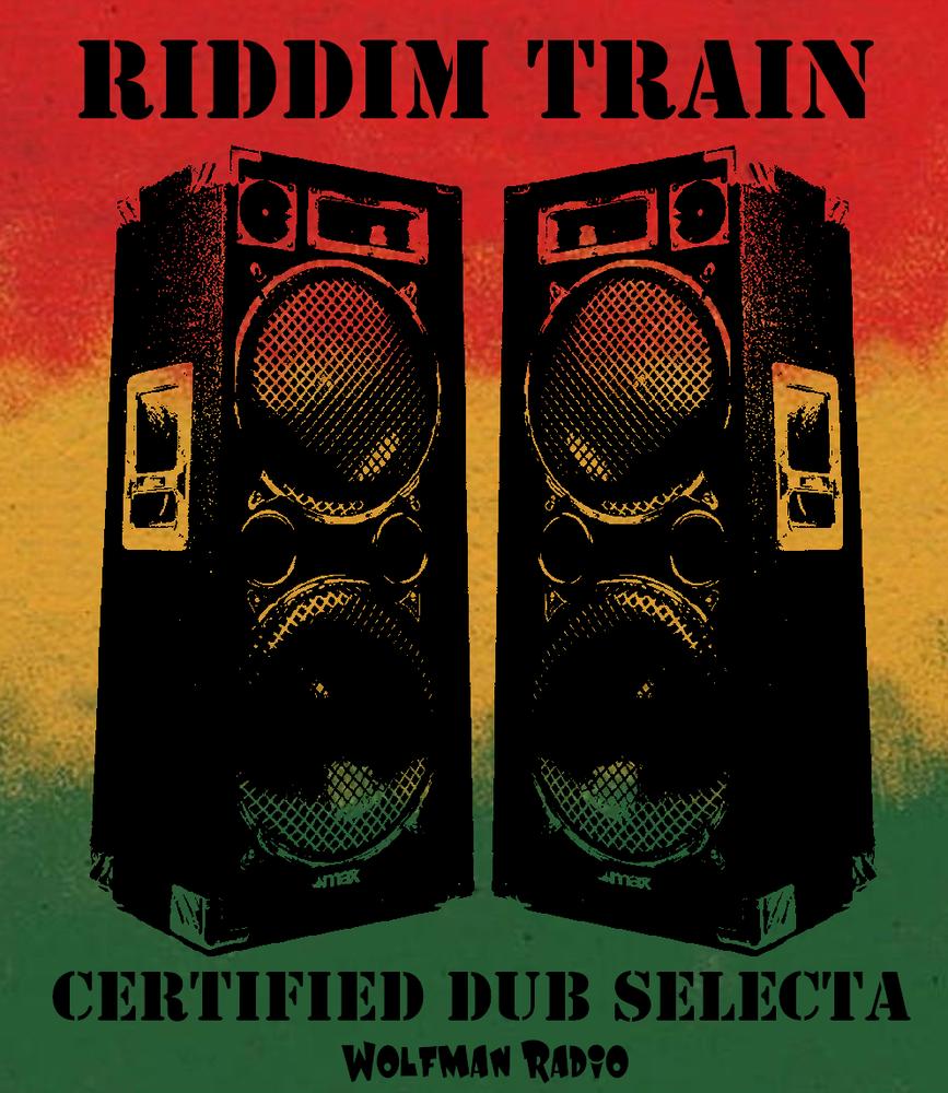 Riddim Train Dub Selecta Wolfman Radio Women's Tee>