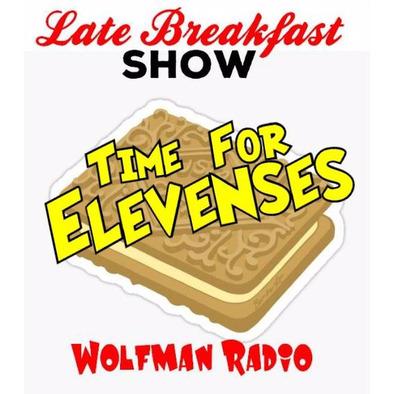 Wolfman Radio Late Breakfast Show Elevenses Mug