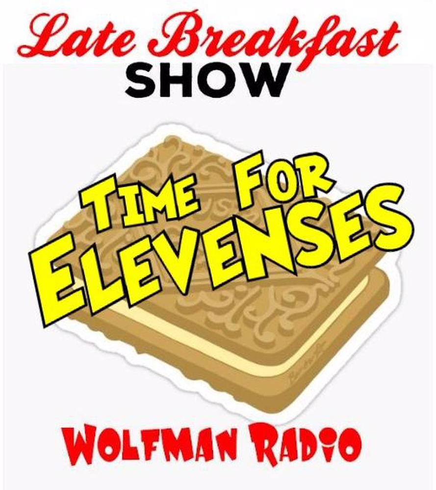 Wolfman Radio Late Breakfast Show Elevenses Mug>