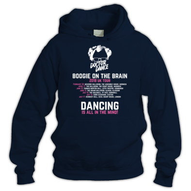 Boogie on the Brain 2018 - Official Tour Hoodie