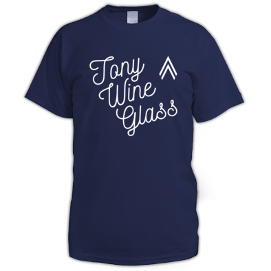 Tony Wine Glass white