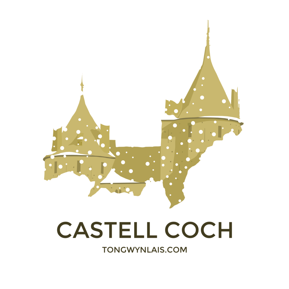 Castell Coch in the snow>