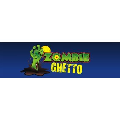 Zombie Ghetto Logo Design>