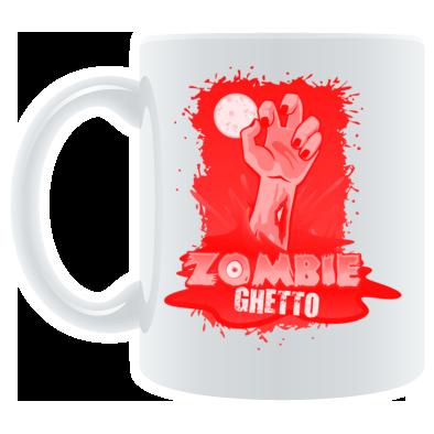 Zombie Ghetto Hand Logo Design