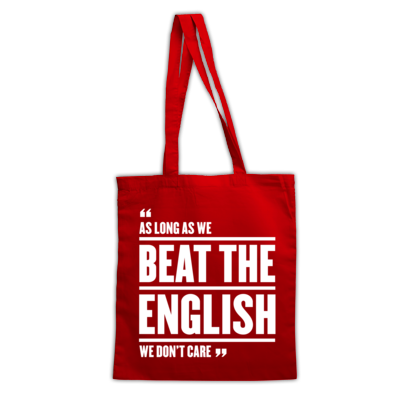 As long as we beat the English, we don't care - Wales 6 Nations rugby union - Bag