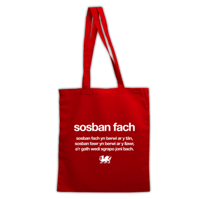 Sosban Fach - Wales 6 Nations Rugby Union - Tote Bag