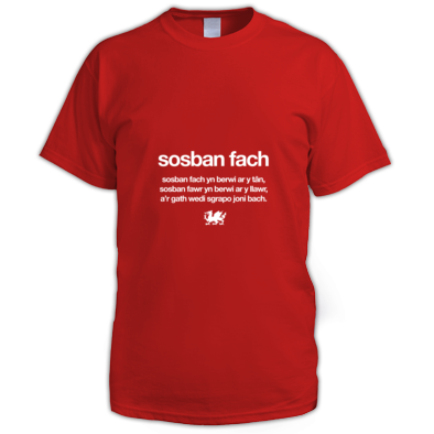Sosban Fach - Wales 6 Nations Rugby Union - Men's tshirt