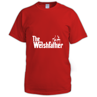 The Welshfather - Men's tshirt