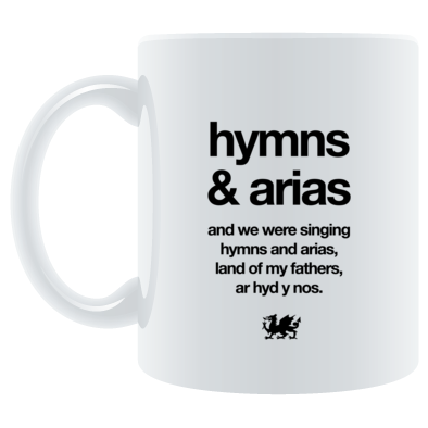 Wales Rugby - Hymns and Arias - Mugs