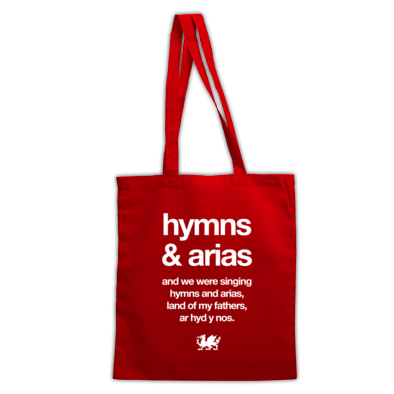 Wales Rugby - Hymns and Arias - Bags