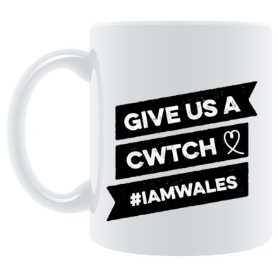 Wales Rugby - Give Us A Cwtch - Mugs