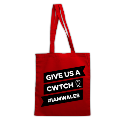 Wales Rugby - Give Us A Cwtch - Bags