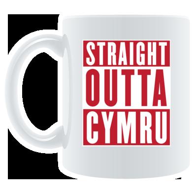 Wales Rugby Union - Straight Outta Cymru - Mugs