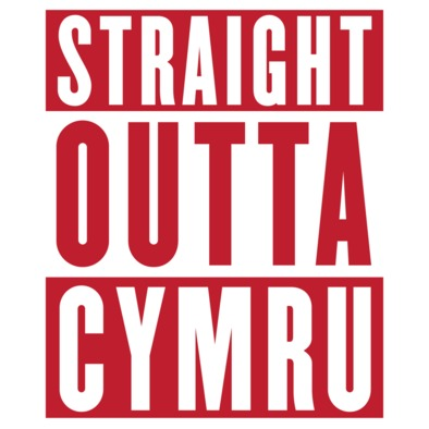 Wales Rugby Union - Straight Outta Cymru - Women's t-shirts