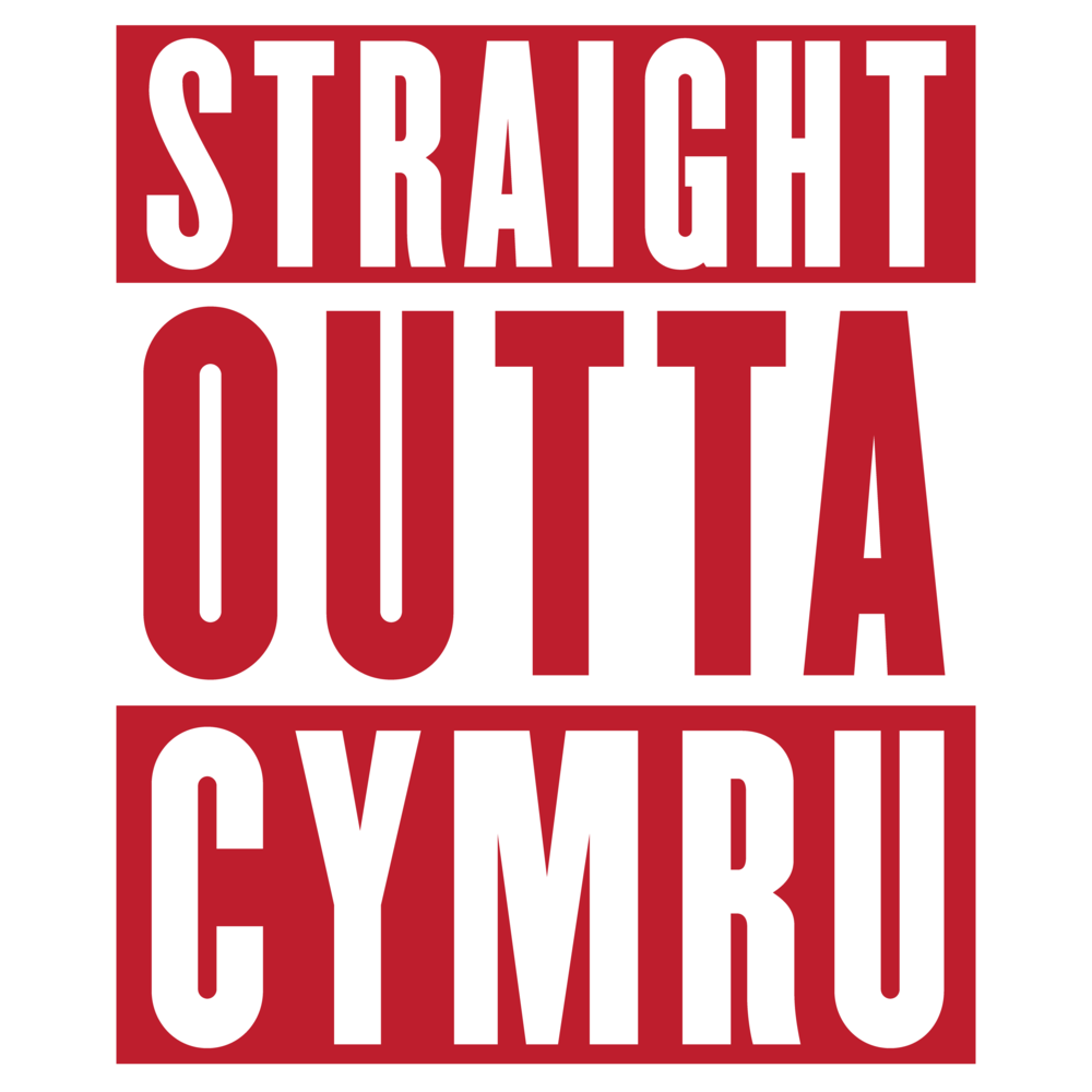 Wales Rugby Union - Straight Outta Cymru - Hooded Tops>