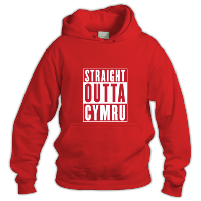 Wales Rugby Union - Straight Outta Cymru - Hooded Tops