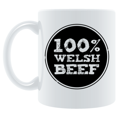 Wales Rugby - 100% Welsh Beef - Mugs