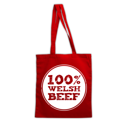 Wales Rugby - 100% Welsh Beef - Bags