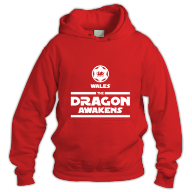Wales Rugby - The Dragon Awakens - Hoodies