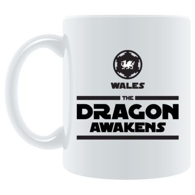 Wales Rugby - The Dragon Awakens - Mugs