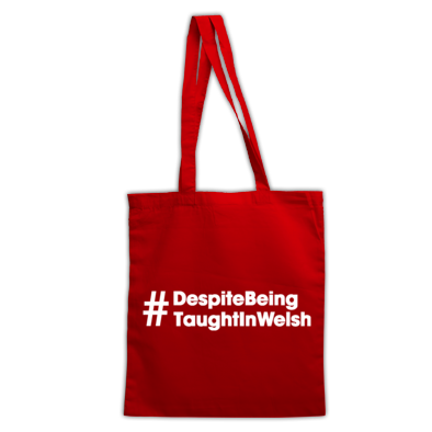 Despite Being Taught In Welsh - Bags