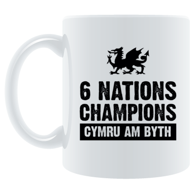 Wales Six Nations Rugby Union Champions - Mugs