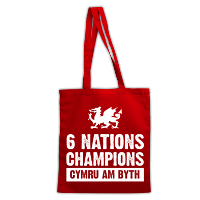 Wales Six Nations Rugby Union Champions - Bags