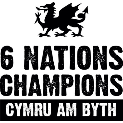 Wales Six Nations Rugby Union Champions - Caps