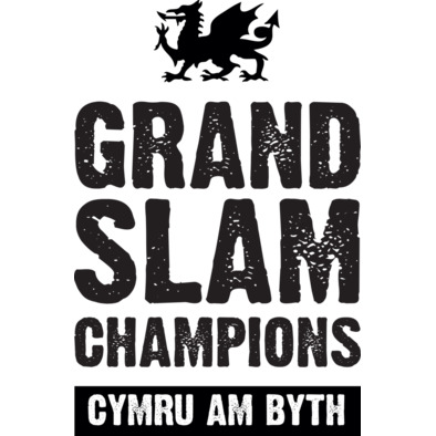 Wales Rugby Union Grand Slam Champions - Caps>