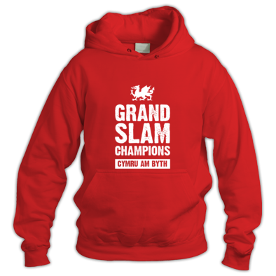 Wales Rugby Union Grand Slam Champions - Hoodies