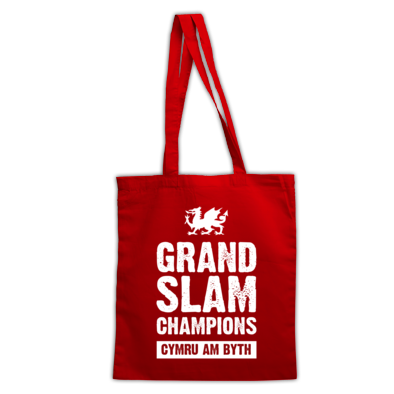 Wales Rugby Union Grand Slam Champions - Bags