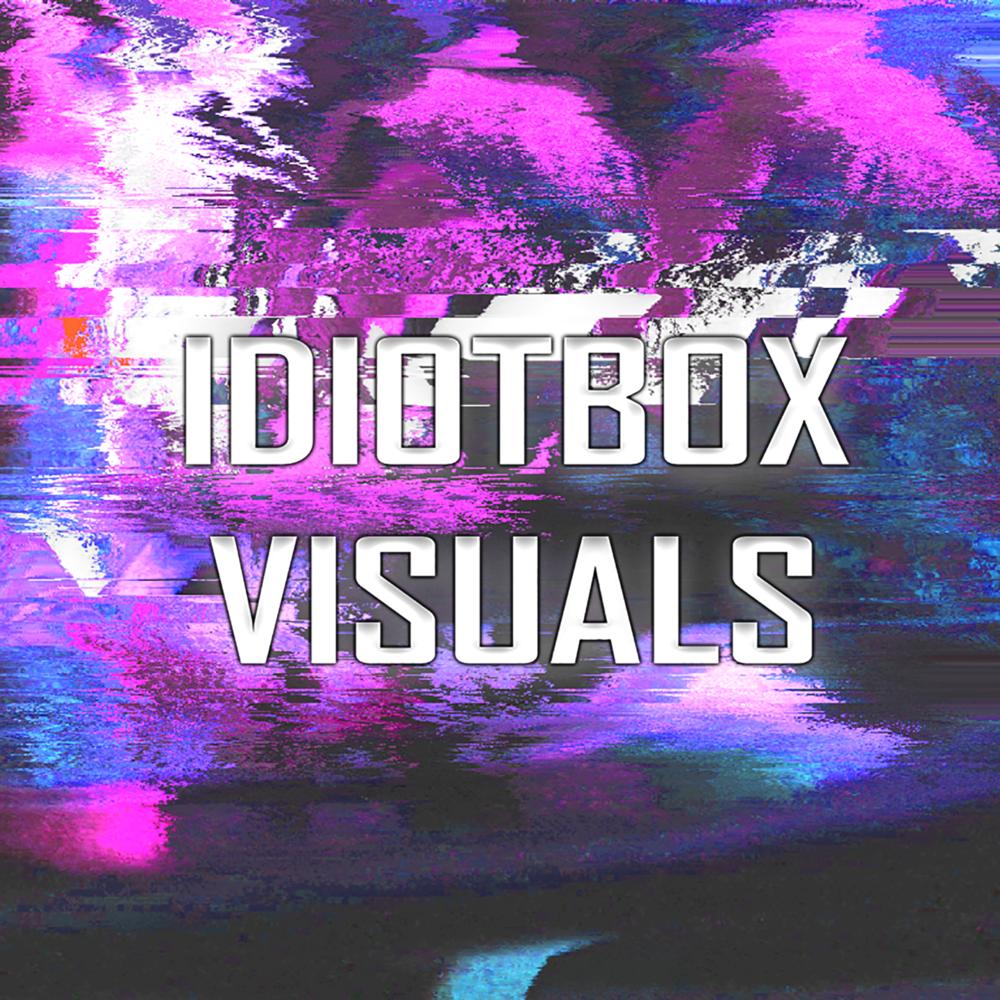 Idiotbox Visuals - Glitch Logo>