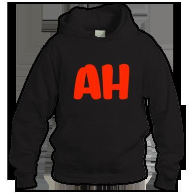 Alex Haarbor Red Initial Hoodie