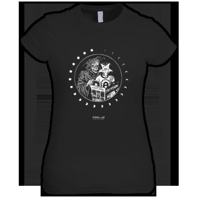 """CREEP MOVEMENT"" / WOMEN / GIRLS / T-SHIRT (VARIOUS COLORS) ATRAX HAZE UK #grunge #goth #alternative #witch #moonchild"