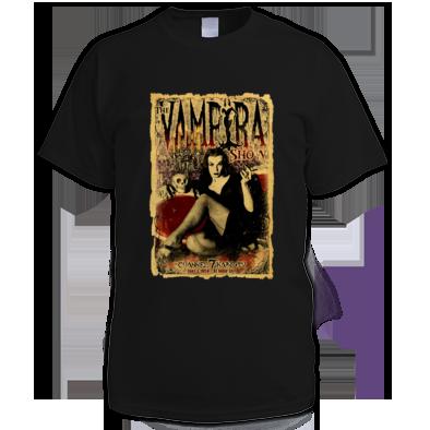 """THE VAMPIRA SHOW"" WOMENS / GIRLS / MENS T-SHIRT (ATRAX HAZE UK) #grunge #goth #alternative #alt.fashion #haute goth #gothic aesthetic"