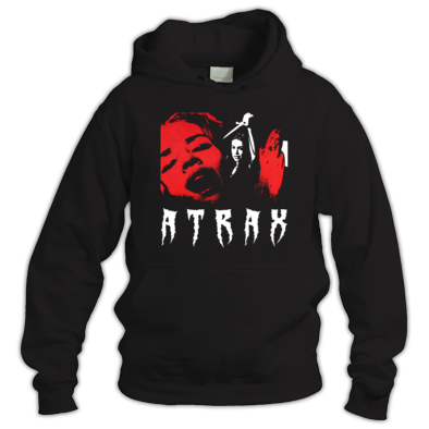 """ATRAX - SLASHER"" WOMENS / GIRLS / MENS HOODIE (ATRAX HAZE UK) #grunge #goth #alternative #alt.fashion #gothic aesthetic"