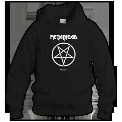"""METALHEAD"" WOMENS / GIRLS / MENS UNISEX HOODIE (ATRAX HAZE UK) 100% Cotton #metal musice #goth #alternative #alt.fashion #goth aesthetic"