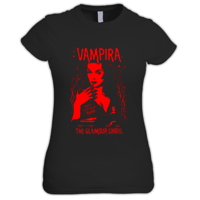 """VAMPIRA (BLOOD TEE)"" / WOMENS / GIRLS / T-SHIRT (ATRAX HAZE UK) 100% Cotton #grunge #goth #alternative #alt.fashion #gothic aesthetic"