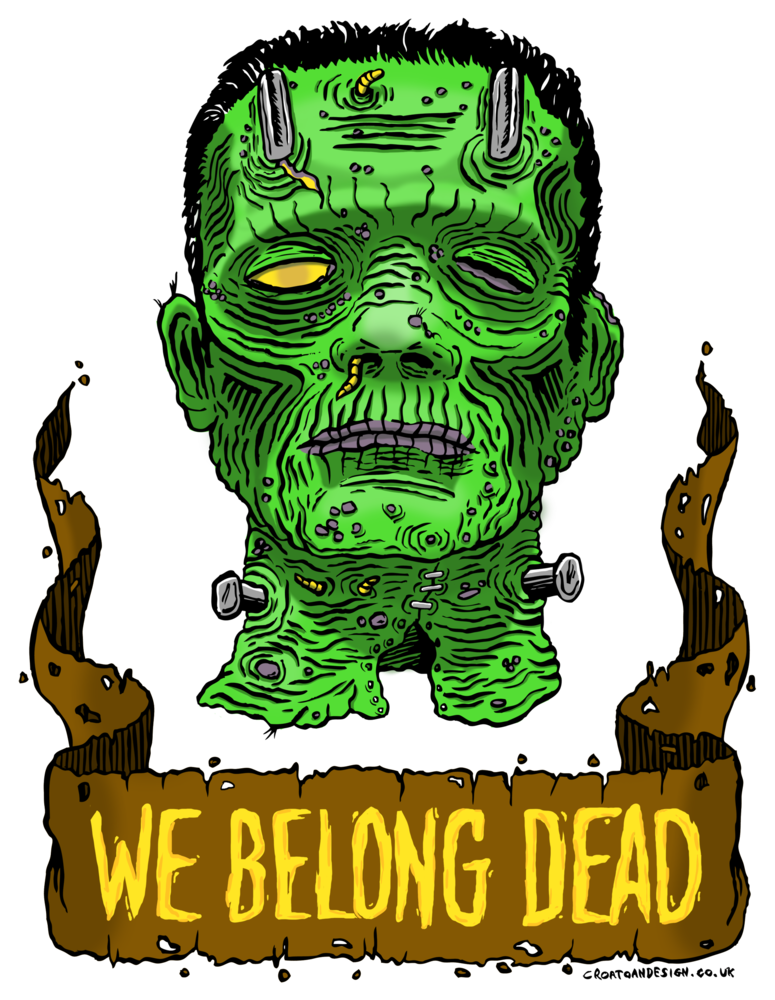 We Belong Dead Tote>