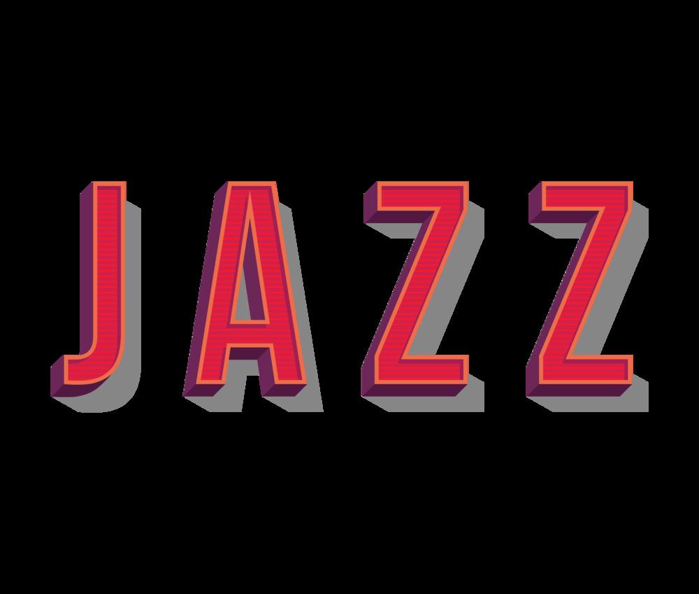 JAZZ 3D letters>