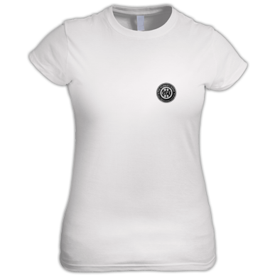pocket logo ladies tshirt