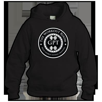 big black logo hoodie