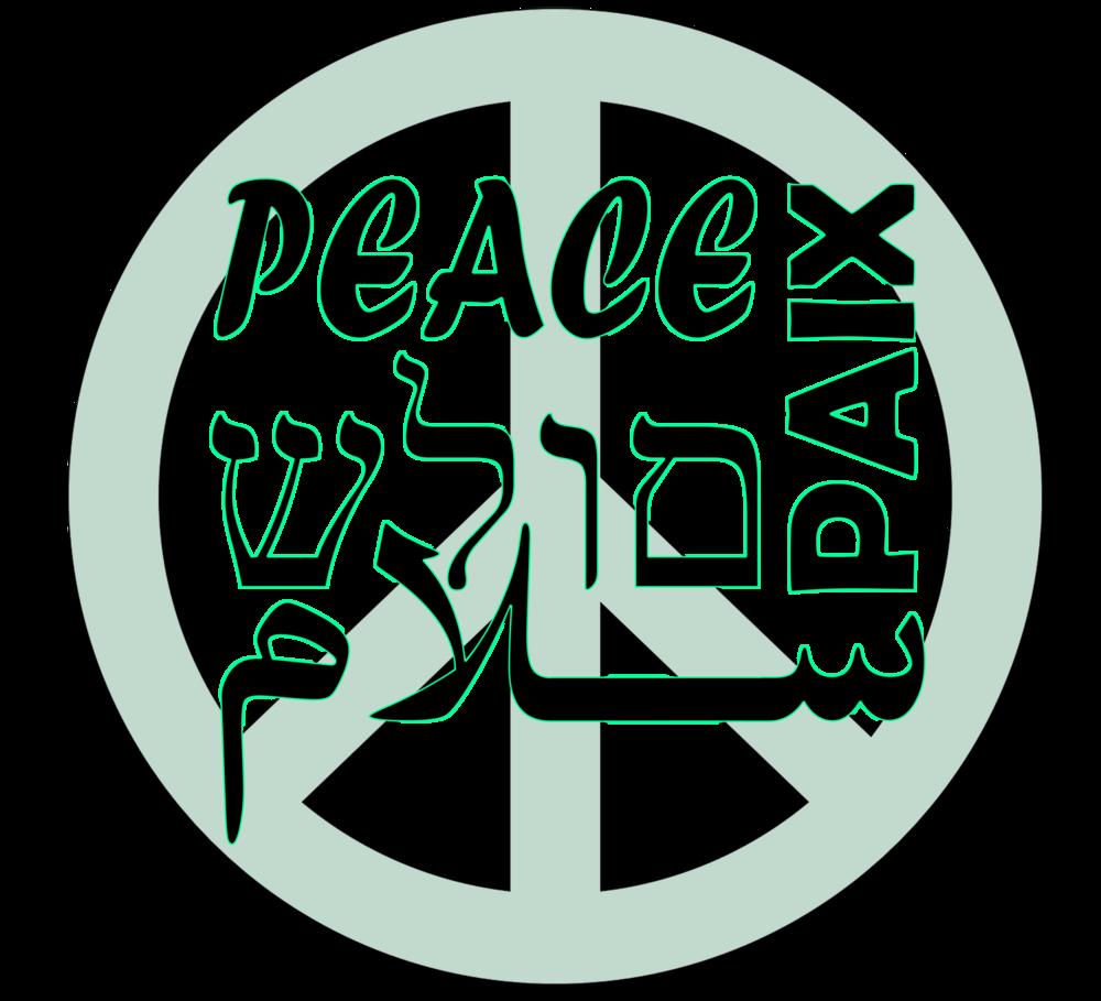 Peace T shirt Men>